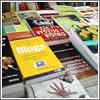 Libros en formato «árbol muerto» en la Feria del Libro (CC) Alvy