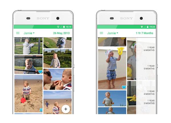 Lifecake app android sony