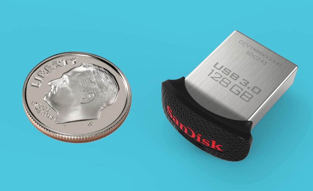 SanDisk Ultra Fit™ USB 3.0 Flash Drive