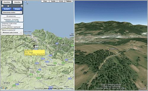 Aviones en vuelo en LocalizaTodo