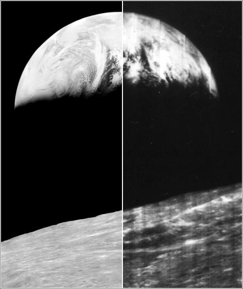 Imágenes de y desde la Luna de 1966 en alta definicion