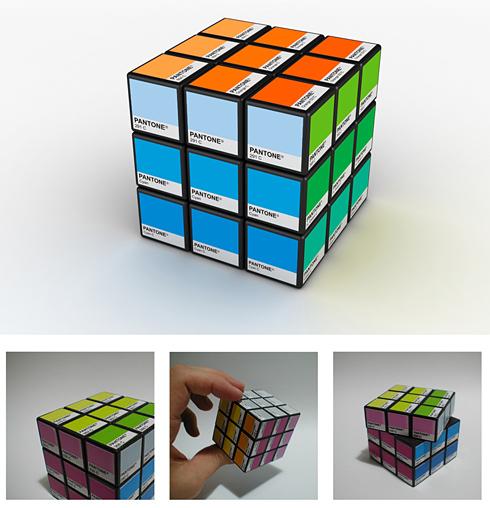 Rubitone: Rubik + Pantone / Ignacio Pilotto