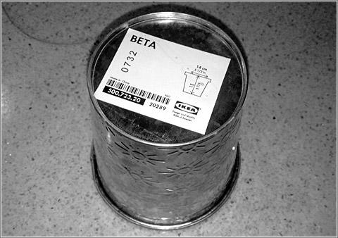 Maceta Beta IKEA / foto (CC) Alvy