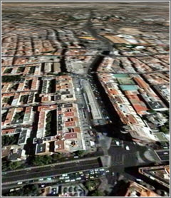 Avenida de América, 2 (Google Earth)
