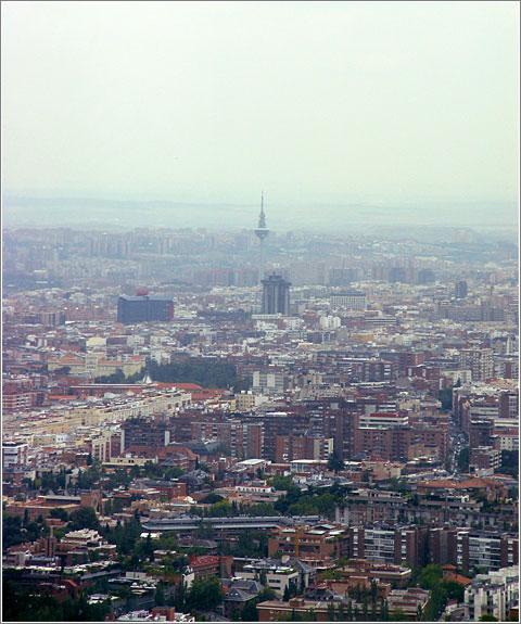 Madrid desde la Planta 50 de Torre Espacio (CC) Alvy