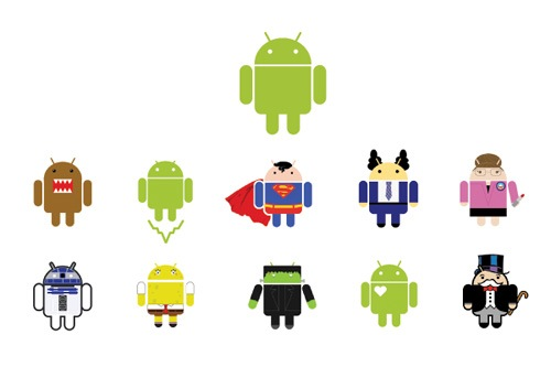 El origen del logo de Android
