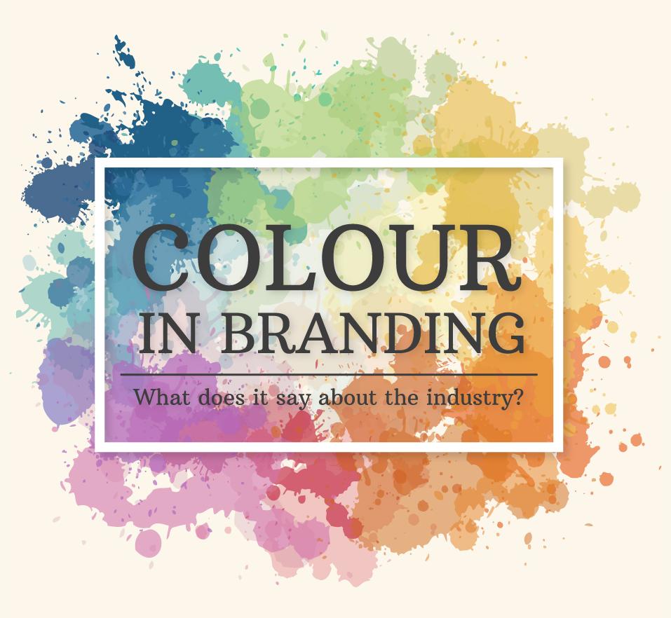 Los colores corporativos que predominan en cada industria