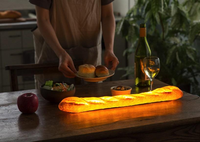 Maison objets yukiko morita pamshade bread lamp designboom 2