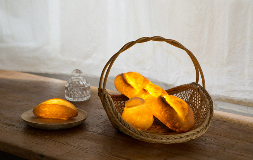 Maison objets yukiko morita pamshade bread lamp designboom 9