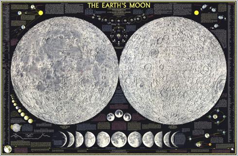 Mapa de la Luna de 1969