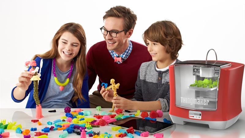 Impresora 3D Mattel