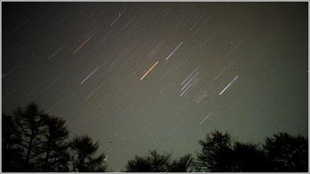 Estrellas y Meteoros en Hokkaido