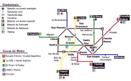Metro de Ávila, por Miguel Ángel Martín Sanz