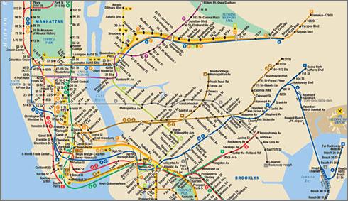 El Metro de Nueva York, versión Historia Animada