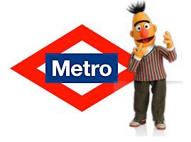Voz del Metro = Blas (de Barrio Sésamo)