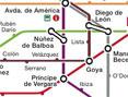 Mapa del Madrid