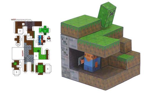 Minecraft-Papel