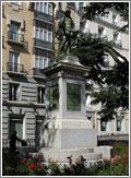 Estatua de Cervantes en Madrid (CC) caribb en Flickr
