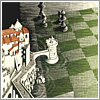 Metamorfosis II, M.C. Escher