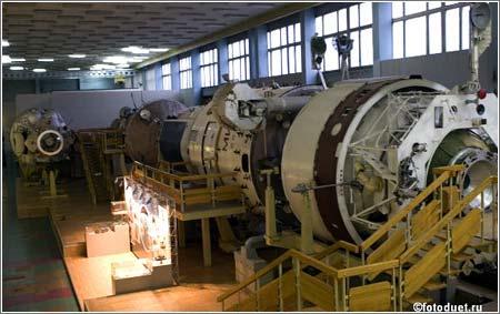 Replica Estacion Espacial Mir