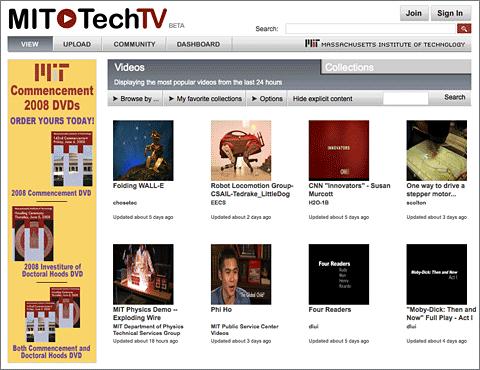 MIT Tech TV: el YouTube del MIT