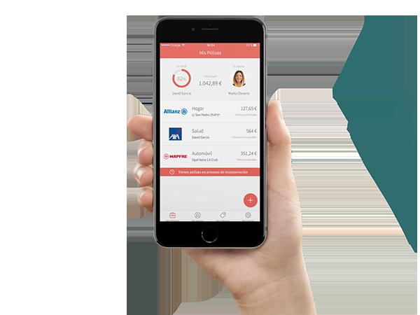Coverfy, la app que organiza tus seguros y te ahorra dinero