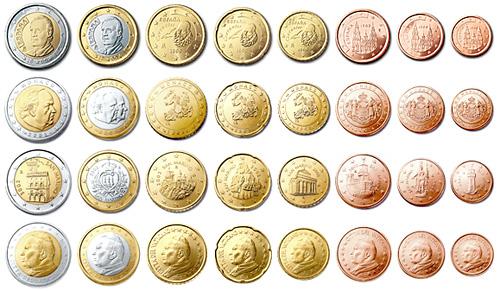 Monedas de euro de Europa