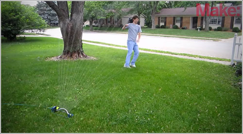 Motionsprinkler