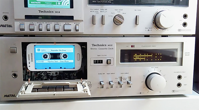 Mp3 tapeless deck 1