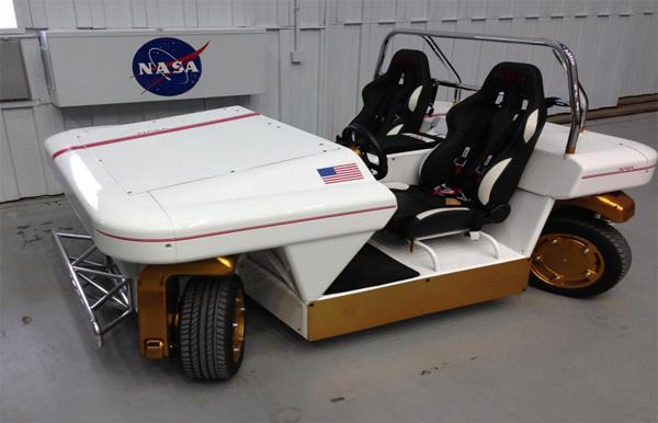 MRV Vehiculo Autónomo de la NASA