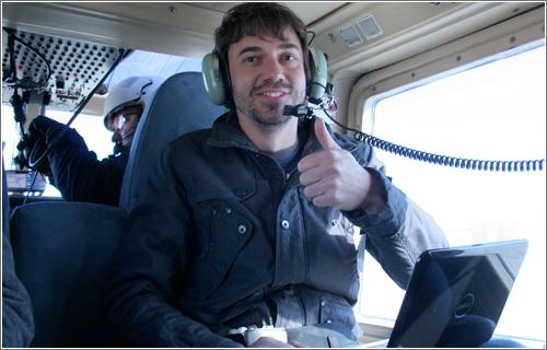Microsiervos en las alturas / Un paseo en helicóptero
