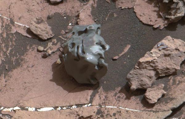 Msl rover curiosity finds meteorite mars pia21134 br2 1