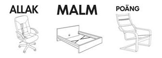 ALLAK, MALM, POANG, mis últimos muebles IKEA (demo de que no les tengo rencor ;-)