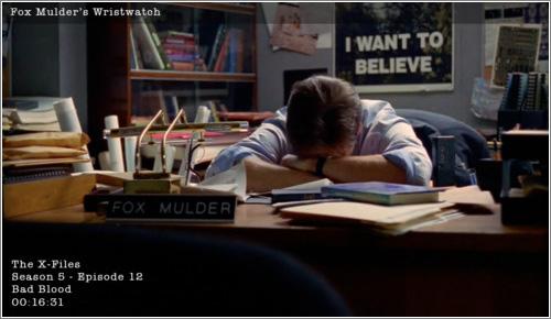 Fox Mulder y su reloj