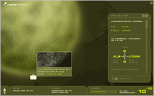 Nanoreisen 10^10