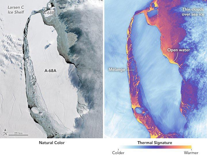 Nasa iceberg larsen 5