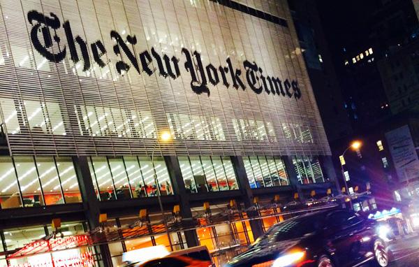 New York Times © Nacho Palou