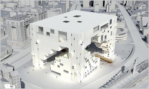 Centro de artes escénicas de Taipei © NL Architects