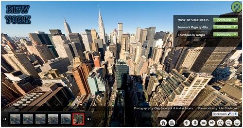 Nueva York, a vista de pájaro