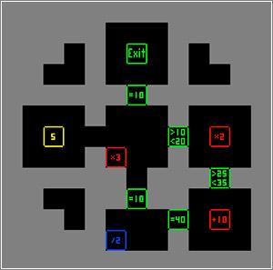 Numberpuzzle-Maze