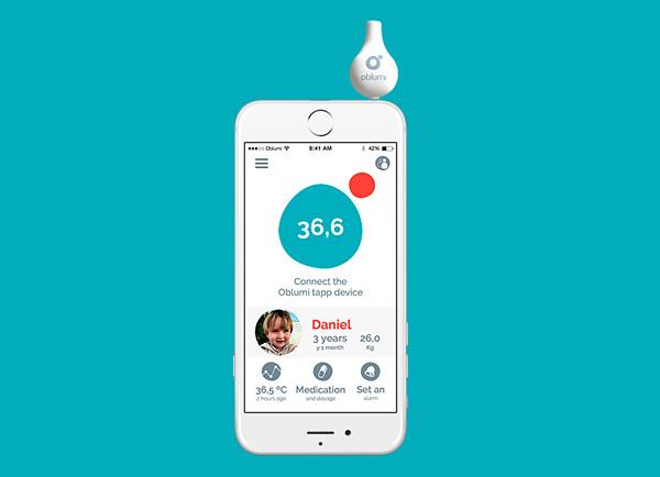 Oblumi tapp convierte el móvil en un termómetro por infrarrojos