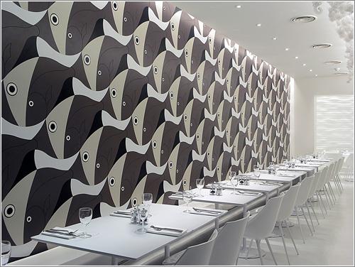 Olivomare, de Pier Luigi Piu, un restaurante escheriano