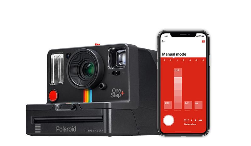 Onestep plus black polaroid camera 009010 angle bluetooth 1024x1024