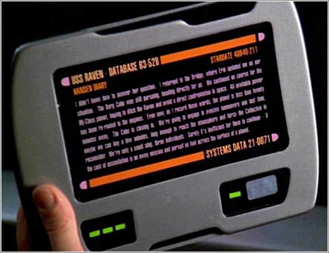 Otro Padd de Star Trek