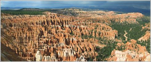 Panorama: Cañón Bryce