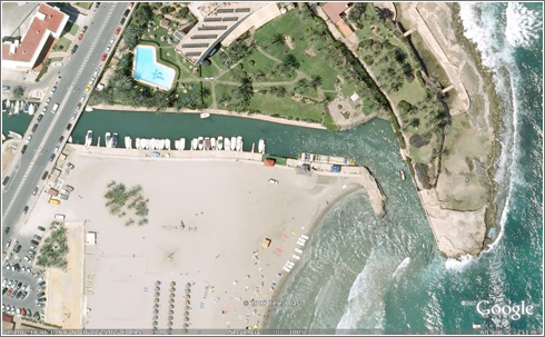 Parador Javea en Google Earth