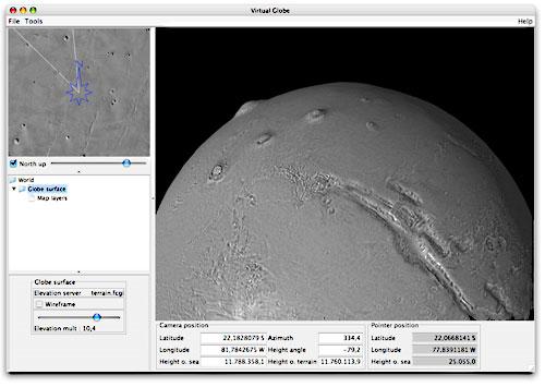 Paseo Virtual por Marte