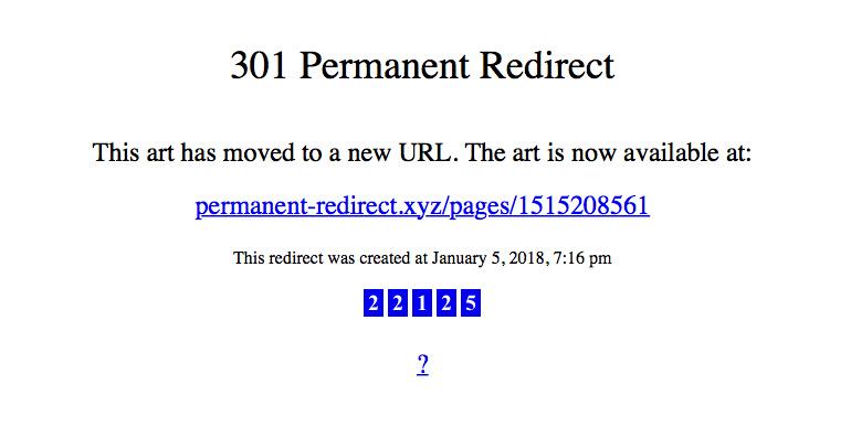 Permanent redirect donald hanson