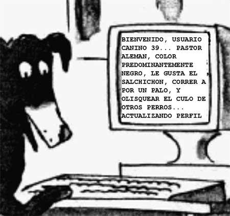 En Internet nadie sabía que eres un perro
