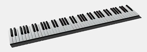 Piano-Webgl